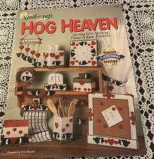 Buy Needlecraft Shop Plastic Canvas Hog Heaven Pattern Book 913404 For Dog Charity