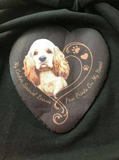 Buy Brand New Bradford Exchange Ladies Cocker Spaniel Hoodie LARGE For Dog Rescue
