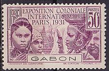 Buy GABUN GABON [1931] MiNr 0124 ( */mh )
