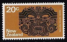 Buy New Zealand #452 Maori Tattoo Pattern; MNH (4Stars) |NWZ0452-04XKN