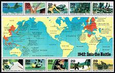 Buy US #2697 World War II Sheet; MNH (2Stars) |USA2697-03