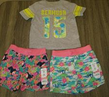 Buy Jumping Beans NWT Girl 24 Months 3 Piece Outfit Shorts Top Hawaiian