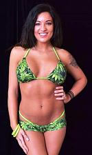Buy WEED BOOTIE SET WITH THONG - by Minor Creations - Made in the USA