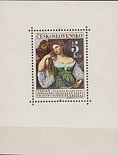 Buy CSSR [1965] MiNr 1560 Block 22 ( **/mnh ) Gemälde