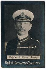 Buy Ogden's Guinea Gold Cigarettes Tobacco Card Major Sir Henry E. Colvile Vintage