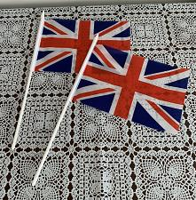 Buy Set of 2 Novelty 8 x 5 Inch British Union Jack UK Great Britain Stick Flags