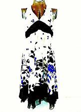 Buy Speechless womens size 13 blue white black Halter dress (O)pm