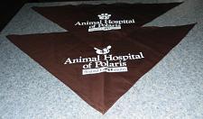 Buy Two Brand New Polaris Animal Hospital Design Dog Bandanas For Dog Rescue Charity