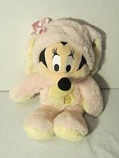 Buy Disney Store Plush Stuffed Easter Bunny Mickey Mouse Minnie Mouse Pink