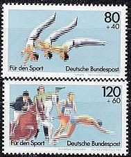 Buy GERMANY BUND [1983] MiNr 1172-73 ( **/mnh ) Sport