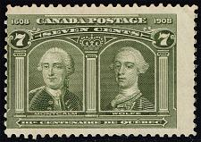 Buy Canada #100 Generals Montcalm and Wolfe; Unused NG (1Stars) |CAN0100-01XDP