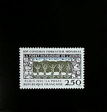 Buy 1991 France 10th World Forestry Congress Scott 2265 Mint F/VF NH