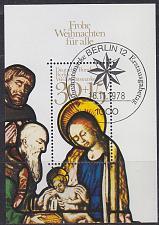 Buy GERMANY BERLIN [1978] MiNr 0581 Block 7 ( Sonder-O ) Weihnacht