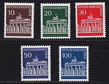 Buy GERMANY BERLIN [1966] MiNr 0286-90 ( **/mnh )