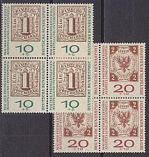 Buy GERMANY BUND [1959] MiNr 0310-11 a 4er ( **/mnh ) Briefmarken