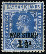 Buy Cayman Islands #MR4 War Tax; Unused (4Stars) |CAYMR4-01XDP