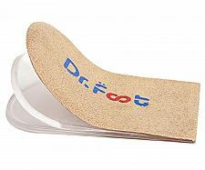 Buy Dr. Foot's Adjustable Orthopedic Heel Lift Inserts, Height Increase Insole for 3