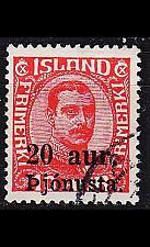 Buy ISLAND ICELAND [Dienst] MiNr 0043 ( O/used )