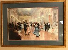 """Buy THE BALL 37"""" x 27"""" Framed PRINT BY VICTOR GILBERT"""