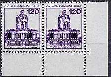 Buy GERMANY BERLIN [1982] MiNr 0675 2er ur ( **/mnh ) Burgen Schlösser