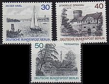 Buy GERMANY BERLIN [1976] MiNr 0529-31 ( **/mnh ) Natur