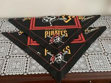 Buy 2 Brand New Pittsburgh Pirates Baseball Design Dog Bandanas 4 Dog Rescue Charity