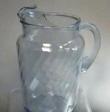 Buy indiana blue serene glass pitcher