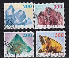 Buy SCHWEIZ SWITZERLAND [2002] MiNr 1808-09,44-45 ( O/used ) [01] Mineralien