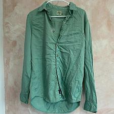 Buy faherty shirt button down green