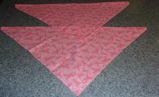 Buy Two Brand New Pink Ribbon Design Dog Bandanas For Cocker Spaniel Rescue Charity