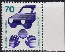 Buy GERMANY BUND [1973] MiNr 0773 Rand ( **/mnh ) [01]