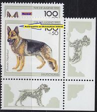 Buy GERMANY BUND [1995] MiNr 1799 F6,I ( **/mnh ) [01] Tiere Plattenfehler