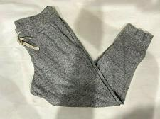 Buy Uniqlo Men's cotton Pants jogger gray size S Worn twice