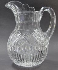 Buy ABP Pitcher American Brilliant Period Cut Glass Antique C10