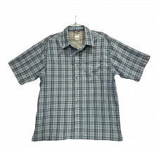 Buy The North Face front button shirt blue Men's size L