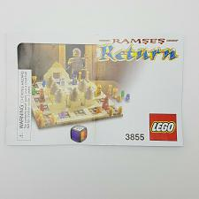 Buy Lego Ramses Return Board Game 3855 Building Instruction Manual Replacement Part