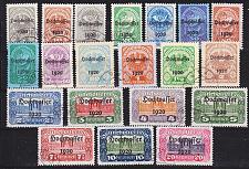 Buy ÖSTERREICH AUSTRIA [1921] MiNr 0340-59 ( O/used )