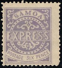 Buy Samoa #4e Express Forgery (9Stars) |SAM0004e-01XDP