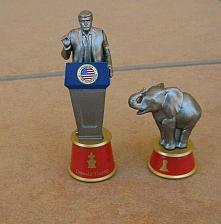 Buy 2020 BATTLE FOR THE WHITE HOUSE CHESS Donald Trump - Replacement Piece