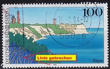 Buy GERMANY BUND [1993] MiNr 1684 F10 ( O/used ) [01] Landschaft Plattenfehler