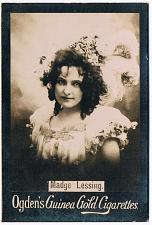 Buy Ogden's Guinea Gold Cigarettes Tobacco Card Madge Lessing Vintage