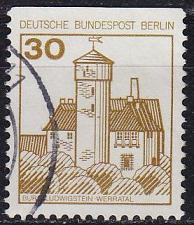 Buy GERMANY BERLIN [1977] MiNr 0534 C ( O/used ) Burgen Schlösser