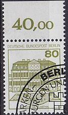 Buy GERMANY BERLIN [1982] MiNr 0674 A o ( O/used ) Burgen Schlösser
