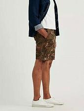 Buy Lucky Brand Men` s Palm Leaf Short Size 32 Brown Stretch Short