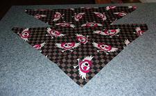 Buy Two Brand New Heart and Wings Design Dog Bandanas For Dog Rescue Charity