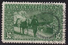 Buy ÖSTERREICH AUSTRIA [BosHerz] MiNr 0037 A ( O/used )