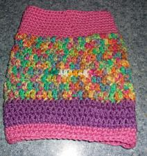 Buy Brand New Hand Crocheted Pink Dog Snood Neck Warmer For Dog Rescue Charity