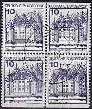 Buy GERMANY BUND [1977] MiNr 0913 CD 4er ( O/used ) Bauwerke