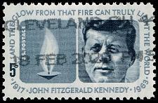 Buy US #1246 John F. Kennedy & Eternal Flame; Used (2Stars) |USA1246-03