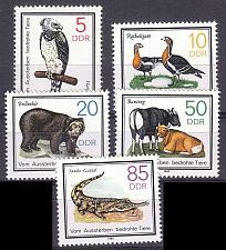 Buy GERMANY DDR [1985] MiNr 2952-56 ( **/mnh ) Tiere